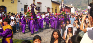 Semana Santa van start in Latijns Amerika