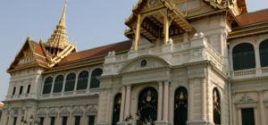 Reizen in rouwend Thailand