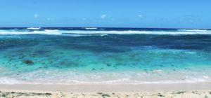De onderwaterwaterval in Mauritius is een optische illusie