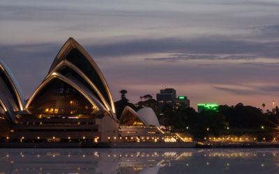 Oost-Australië; Sydney, koala's, regenwoud en strand